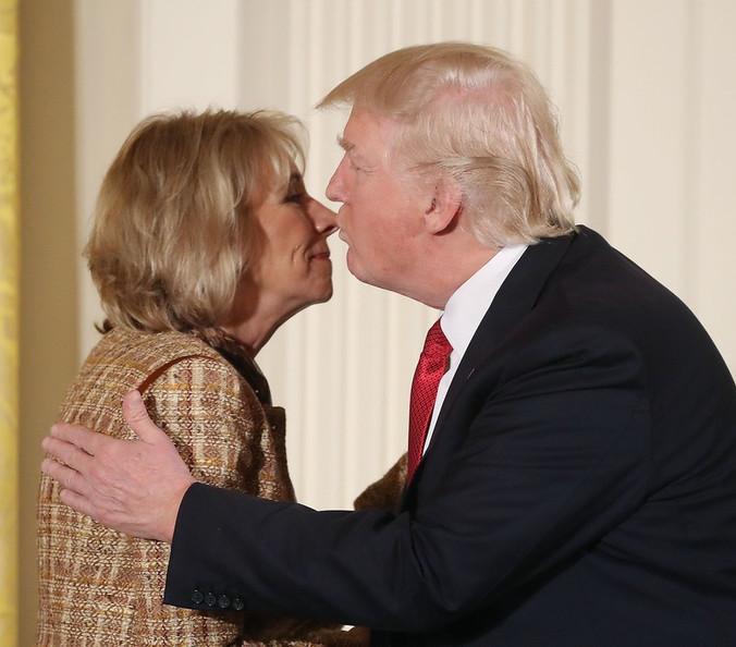 Trump & DeVos: A Match Clearly Made In Anti-Public School/Pro-Privatizer Heaven