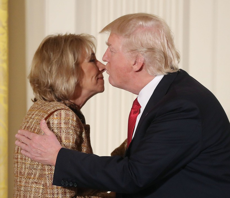 Trump & DeVos: A Match Clearly Made In Anti-Public School/Pro-Privatizer Heaven