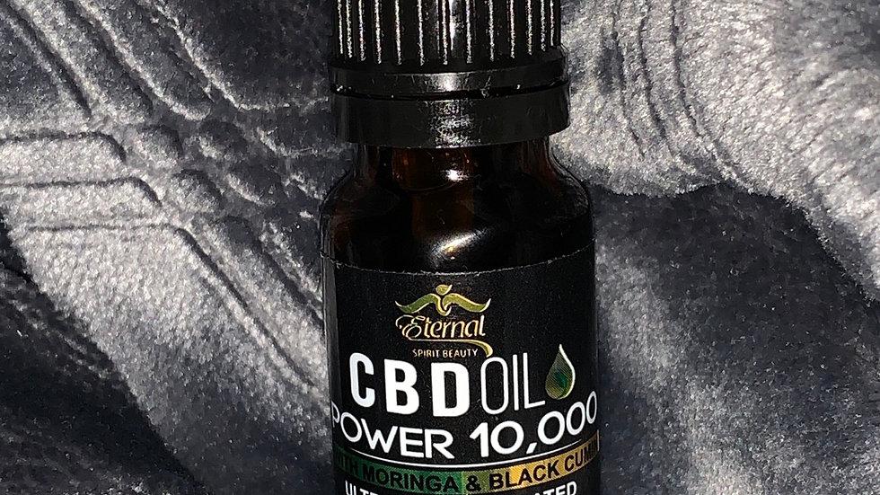 10,000mg CBD oil with Moringa & Black Cumin