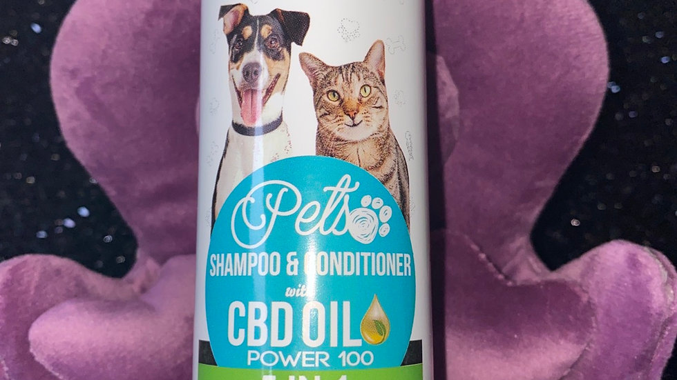 Pets Shampoo & Conditioner  with CBD oil 100mg