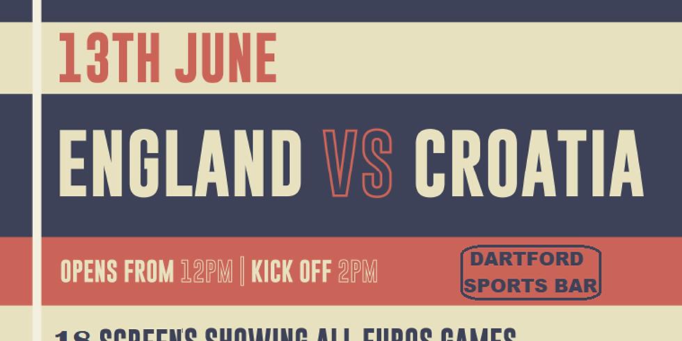 England v Croatia  VIP BOOTH