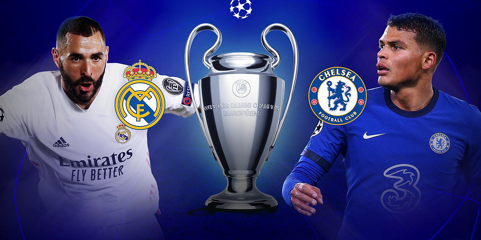 Chelsea v Real Madrid 2nd Leg 05.04.21