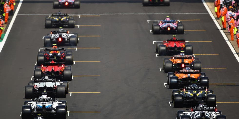 Super Sunday / Silverstone F1 3pm / FREE tickets all-day