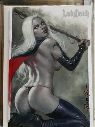 Lady Death Blank commission