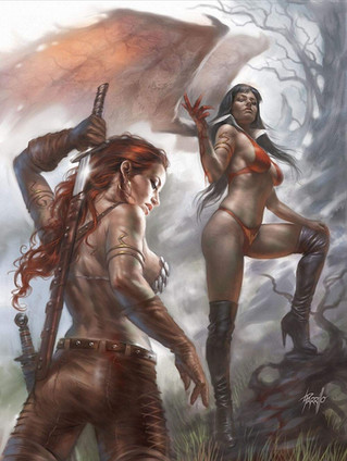 Red Sonja Vampirella #4