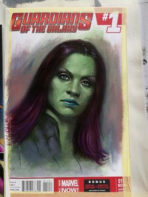 Gamora Blank commission