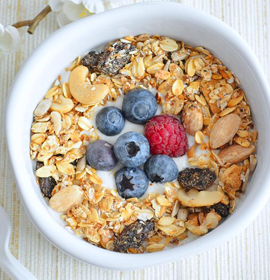 ¡Haz tu propio cereal saludable casero!