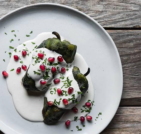 chile nogada bajo calorias