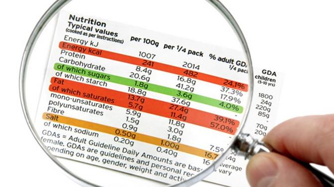 Claves para leer etiquetas nutrimentales