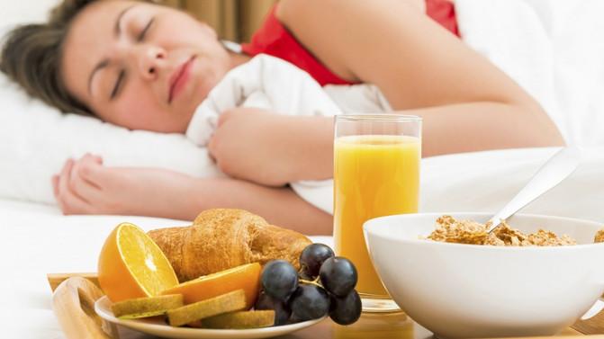 Como influye la alimentación en el sueño