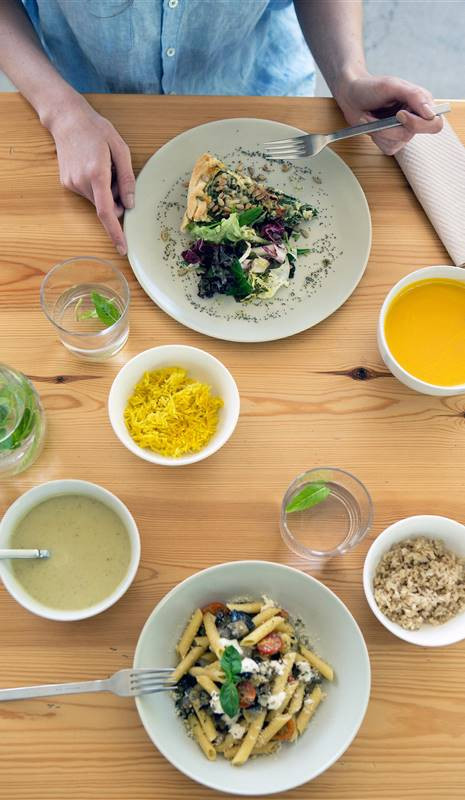 Beneficios de comer en casa