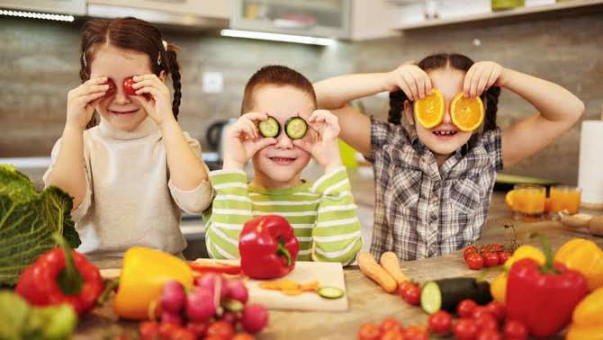 Consejos para que tus hijos coman más sano