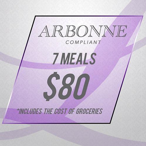 ARBONNE Compliant - 7 Meal Package