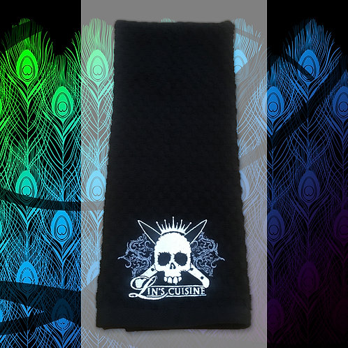Skull Dish Towel
