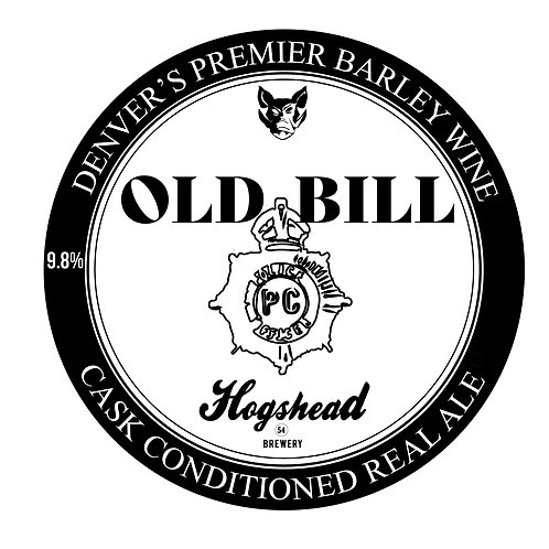 OLD BILL 32 oz crowler