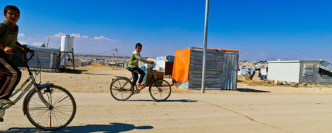 Refugee children in Jordan. Steve Addison photo