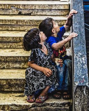 Refugee children being kept as virtual slaves in Southern Lebanon. Steve Addison photo