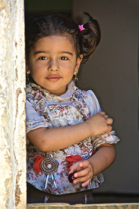 Refugee girl, Lebanon. Steve Addison photo