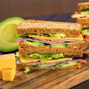 Avocado Cheese Sandwiches