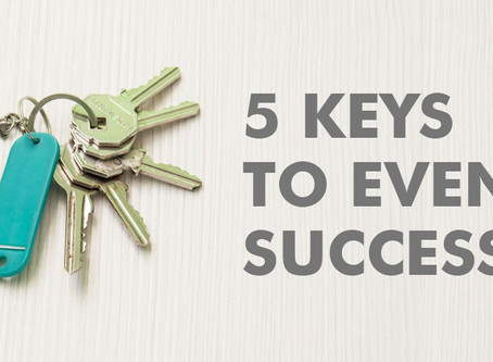 5 Keys to Event Success: Goal Setting