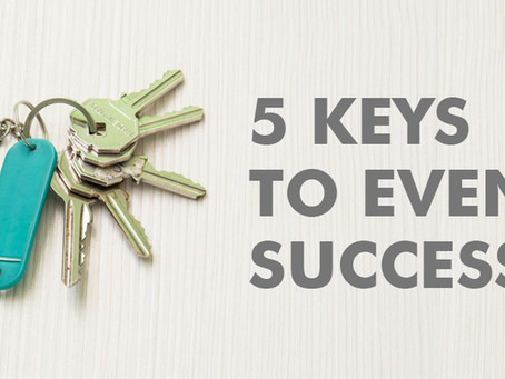 5 Keys to Event Success: Goal Setting