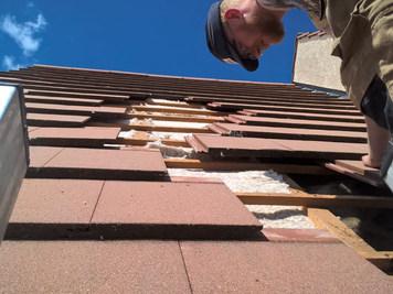 Isolation du toit par l'extérieur Biofib Trio, Chanvre/lin/coton, Meaux 77