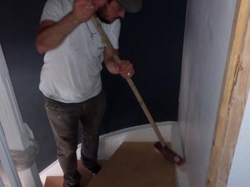 Nettoyage chantier Fin de journée
