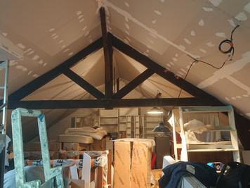 Isolation par fibre de bois, Bussy Saint Martin