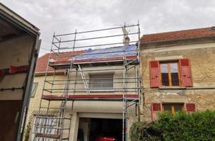 Isolation du toit par l'extérieur, Biofib Trio,  Jouarre (77)