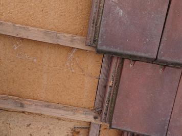 Isolation par fibre de bois par détuilage, Chelles
