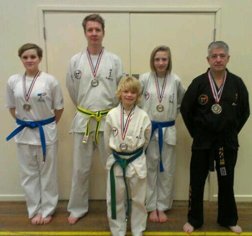 Instructor Mr Crighton & Students
