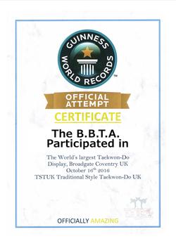 BBTA World record