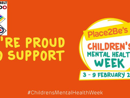 Help us support Children's mental health week and get half price classes!