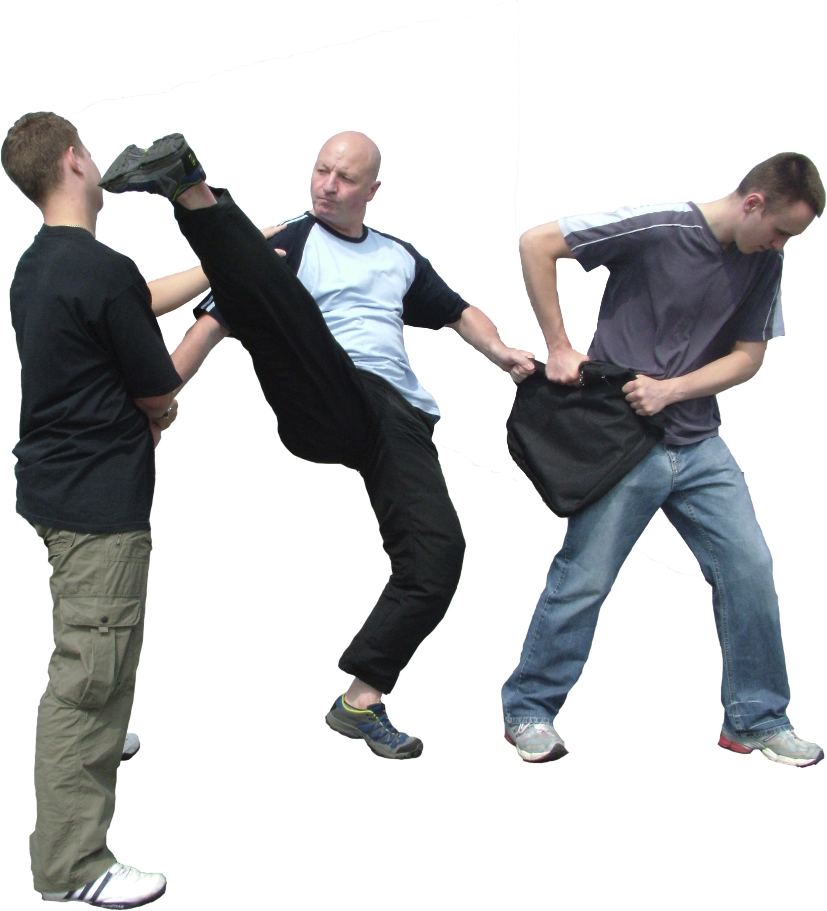 Master Ferguson Self Defence Demo