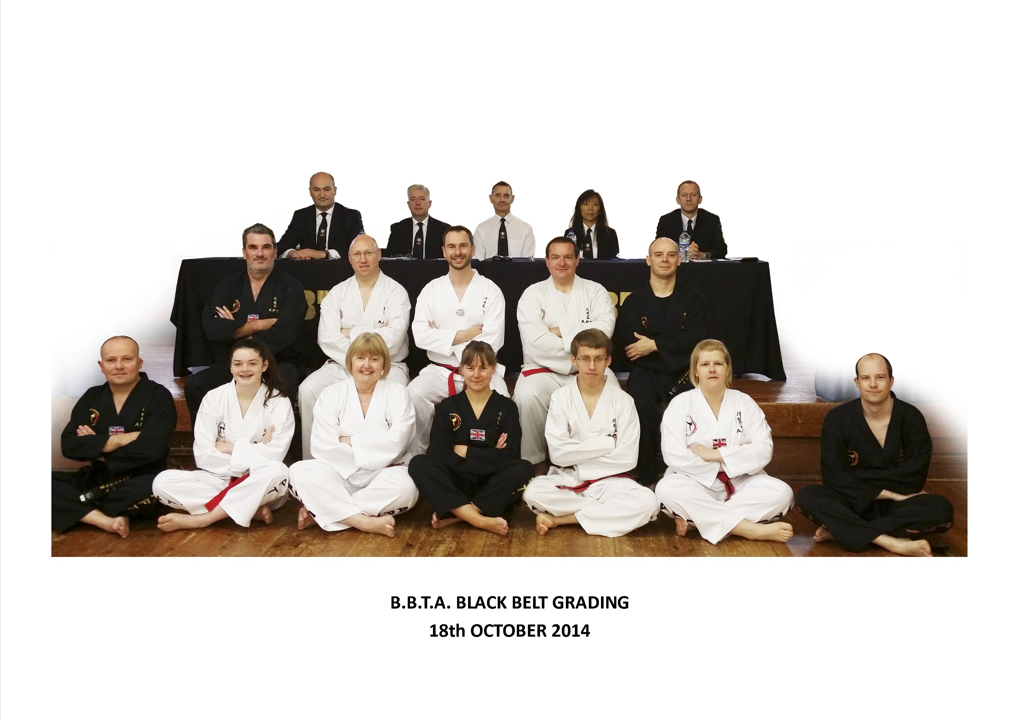 Black Belt Grading October 2014