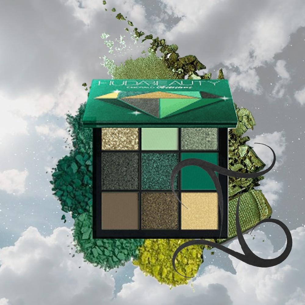 Gemini Beauty Buy - Huda Beauty Emerald Obsessions Palette