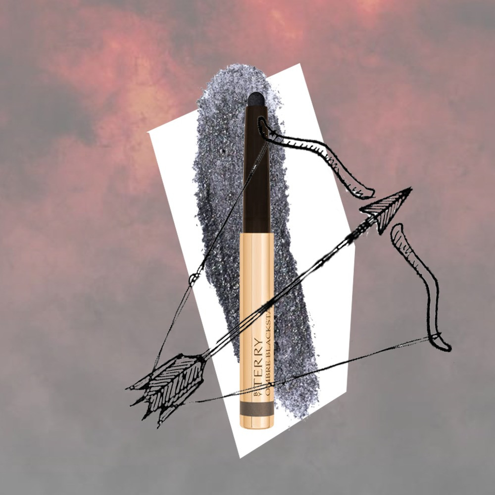 Sagittarius Beauty Buys - By Terry Ombre Black Star Black