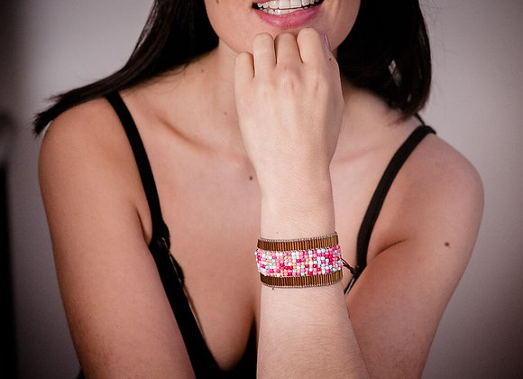 Tutti frutti woven bracelet 187-110