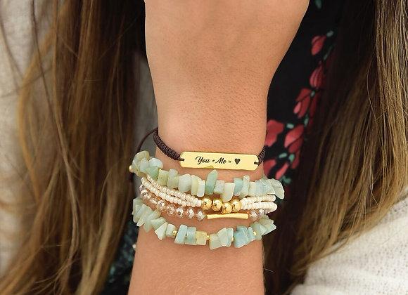 You & me Bracelet set 187-109