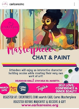 chat & paint community event