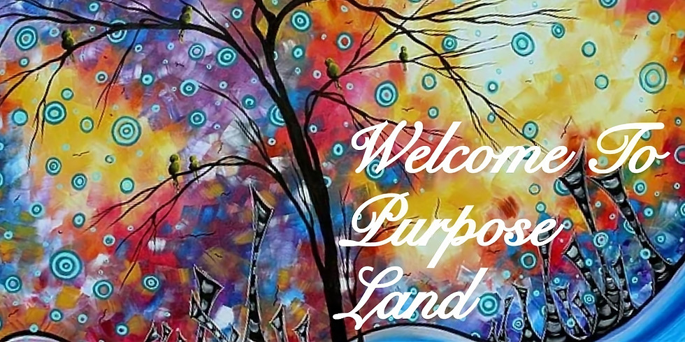 "B. E. E. Inspiring Inc. Presents A Trip To Purpose Land """