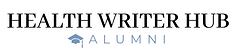 HealthWriterHubAlumniLogo-whitebackgroun