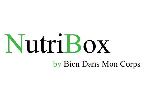 Le bon plan du mois: NUTRIBOX, chaque mois une surprise pour vos papilles - by Bien dans mon Corps