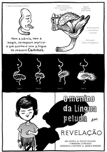 O Menino da Língua Peluda - Journal do Commércio