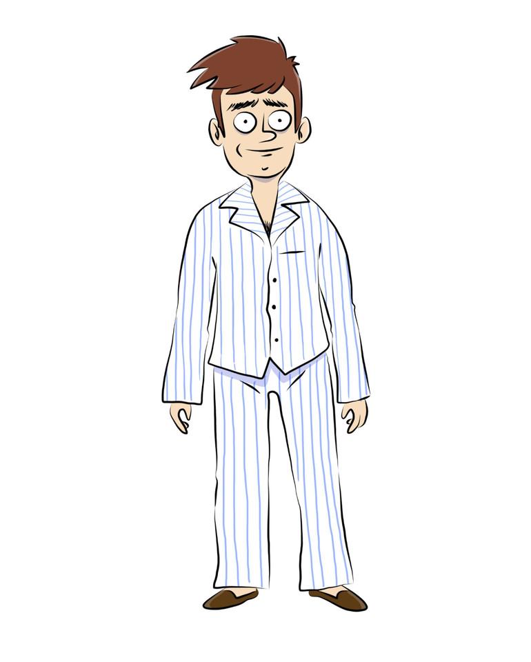 Homem de Pijama - Concept