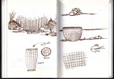 Light in the tropics - Sketchbook