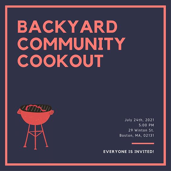 Backyard Community Cookout
