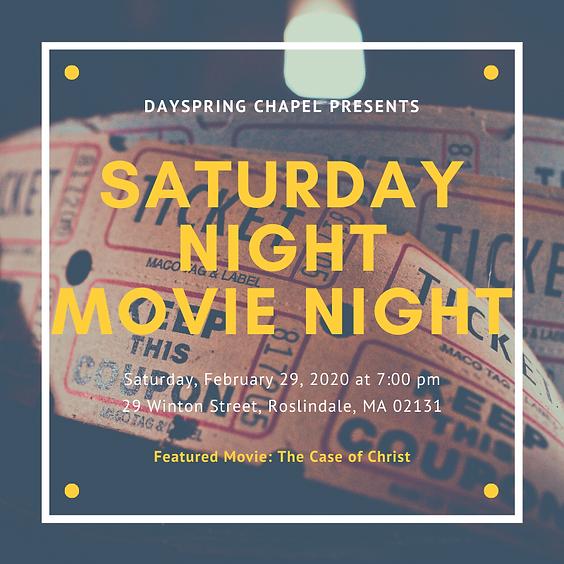 Saturday Night Movie Night
