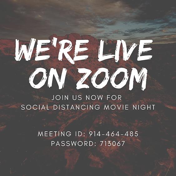 Social Distancing Movie Night