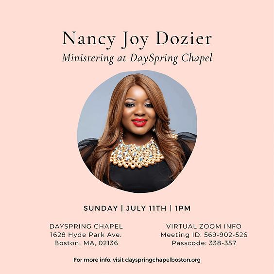 Nancy Joy Dozier @ DSC